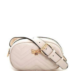 Handbags - Rhinestone Bee Fanny Pack